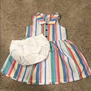 Carter's dress and bloomers